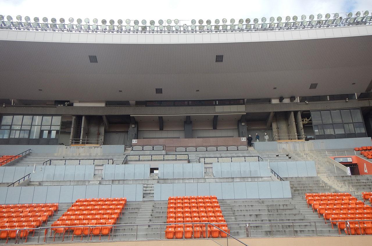 旧国立競技場解体工事